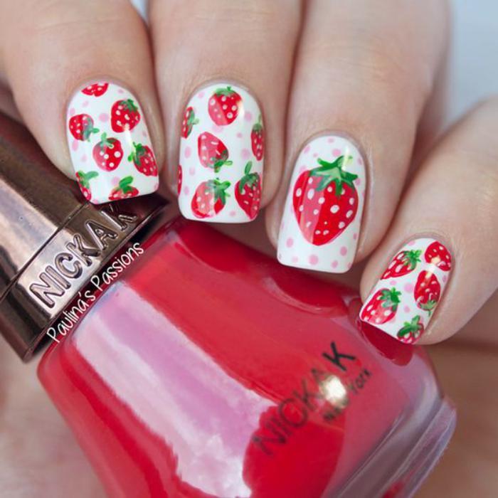 déco-ongles-top-avec-dessins-de-fruits-déco ongles
