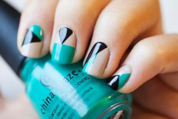 déco-ongles-trois-couleurs-décoration-pour-les-ongles