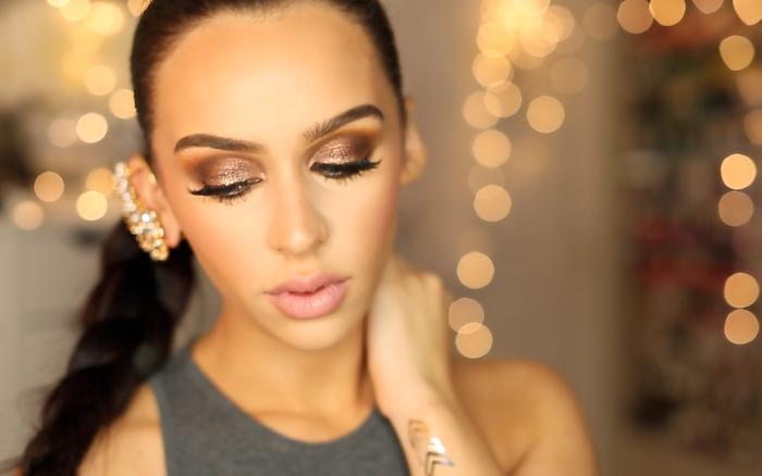 délicat-maquillage-pour-les-fetes-make-up-soiree