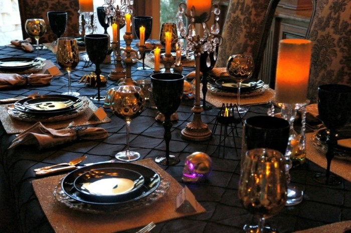 D co table halloween le guide ultime en 86 photos for Decoration de table halloween