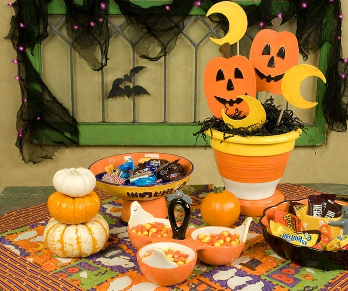 Deco Halloween A Faire Sois Meme Idees Deco Halloween Faire Soi Meme Visuel 3 20 D Corations D