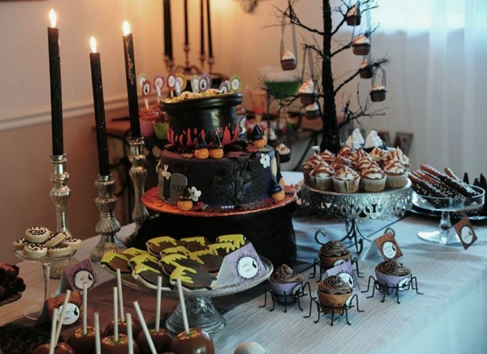 D co table halloween le guide ultime en 86 photos - Deco de table halloween a faire soi meme ...
