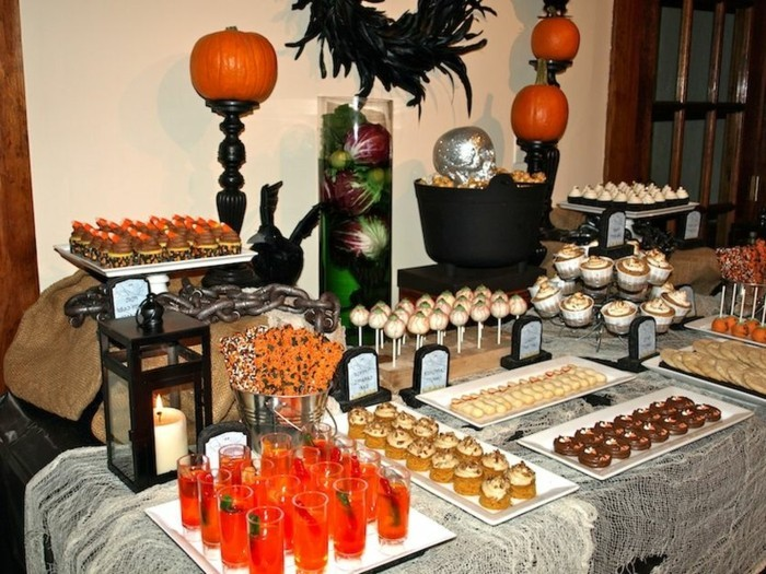 Deco table halloween faire soi meme - Deco halloween a faire ...