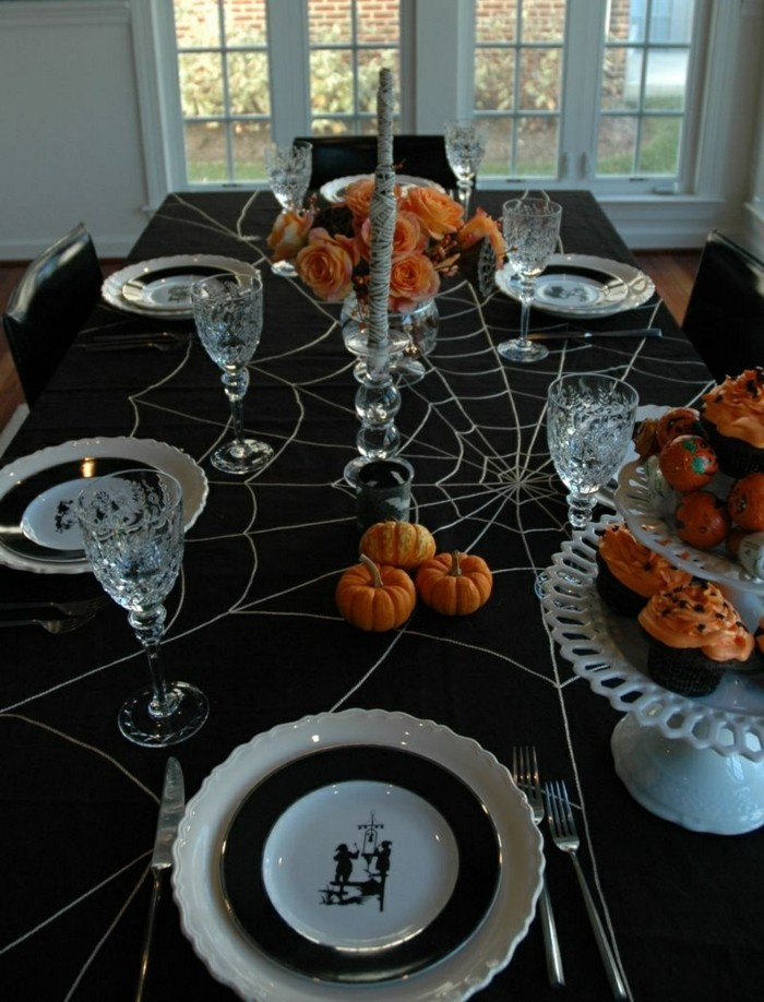 deco-table-mariage-deco-table-halloween-dessin-halloween-facile