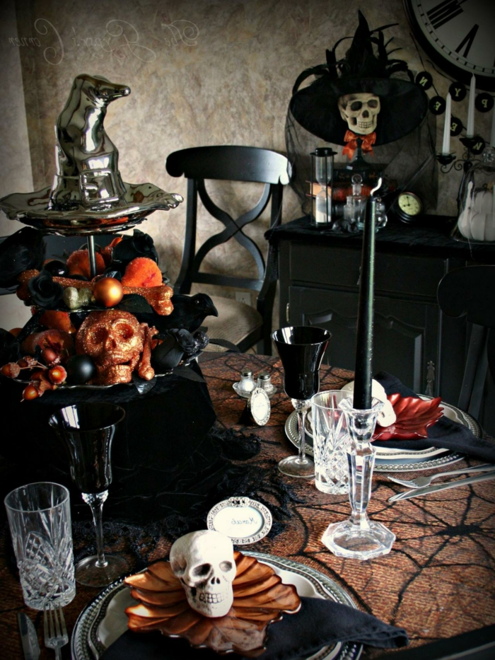 deco mariage halloween. Black Bedroom Furniture Sets. Home Design Ideas