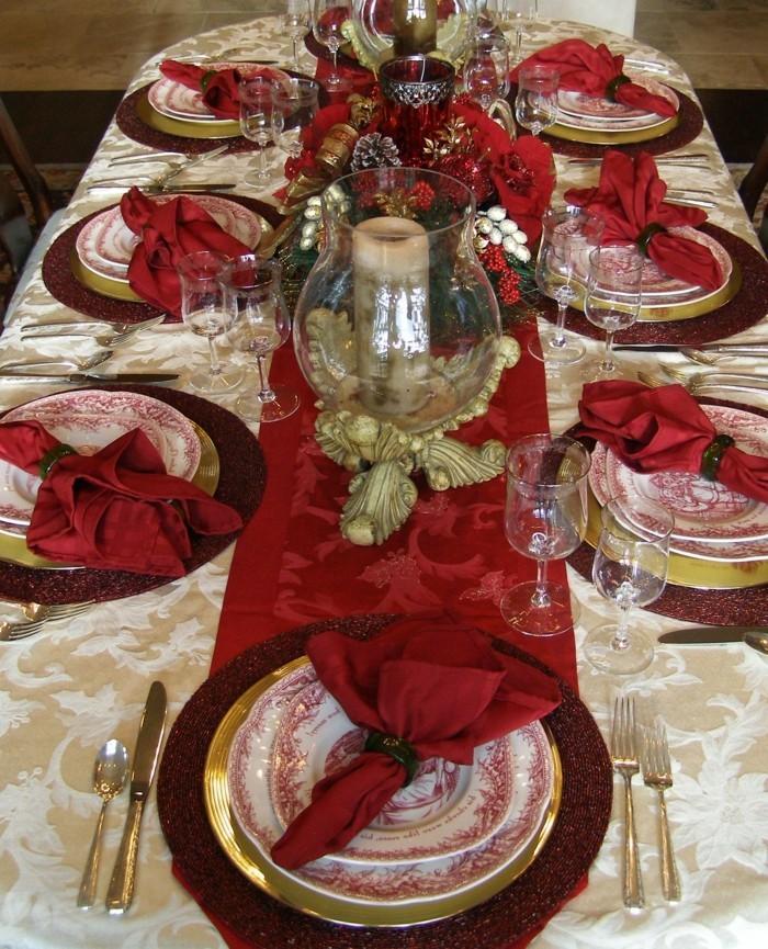 Les tables de f tes astuces et conseils pour d corer la for Decoration de la table de noel