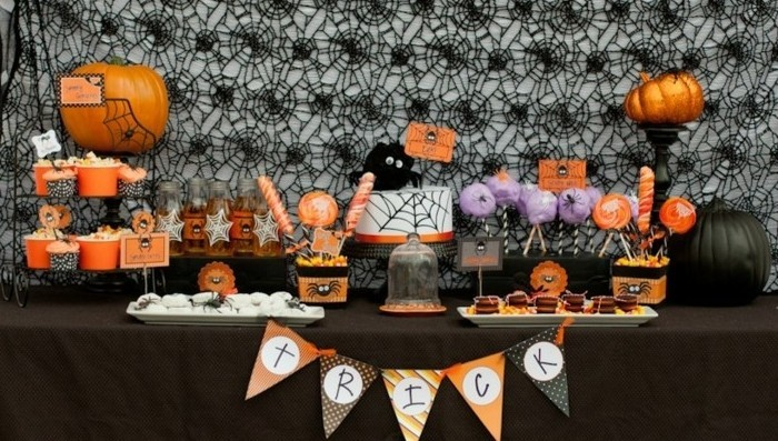 dessin-halloween-facile-deco-table-halloween-déco-halloween-maison
