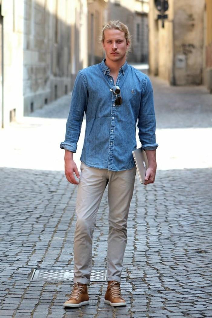 excellent-choix-chemises-hommes-chemise-bucheron-blond
