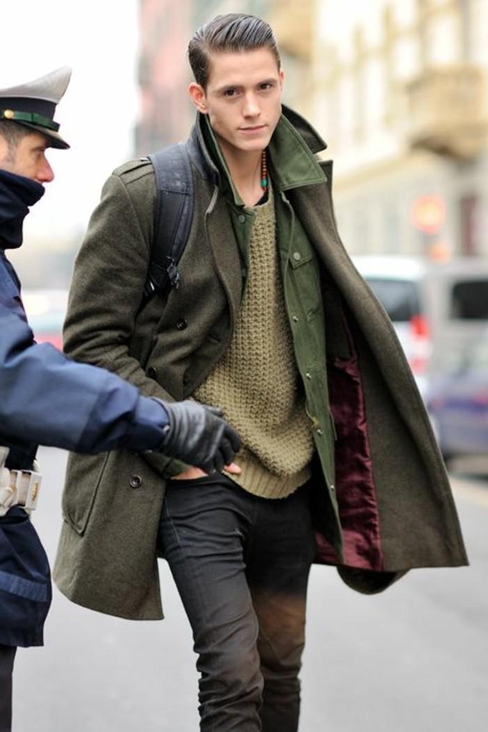 excellente-manteau-canadienne-pour-homme-vert