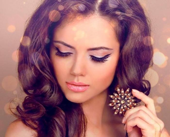 habillée-maquillage-fete-idée-de-maquillage-belle
