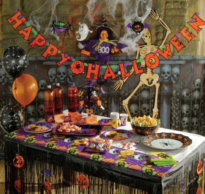 halloween-decorations-décoration-de-table-halloween