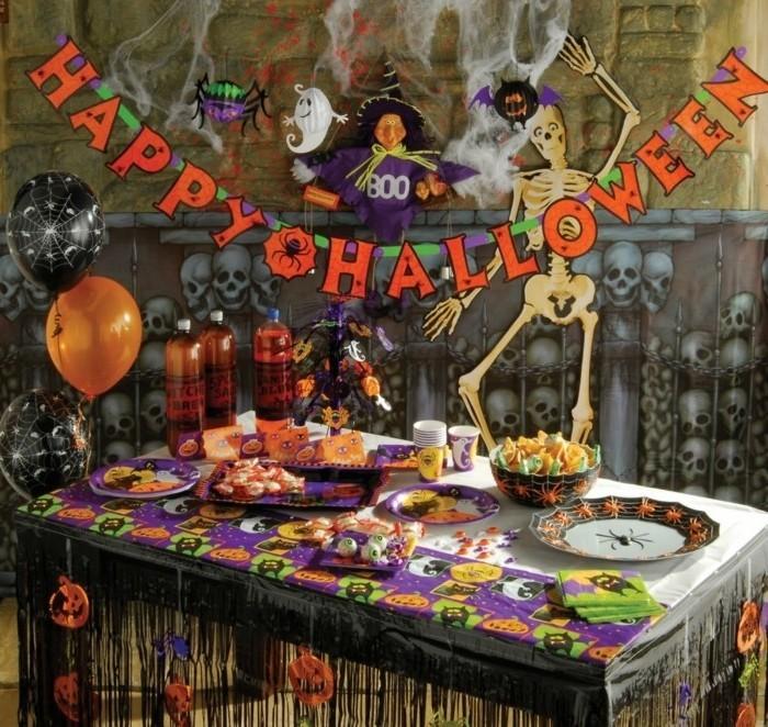 halloween-decorations-décoration-de-table-halloween