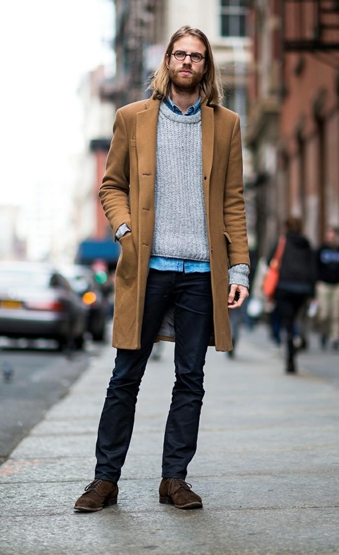 hiver-homme-pardessus-homme-mode-2016-style-de-la-rue