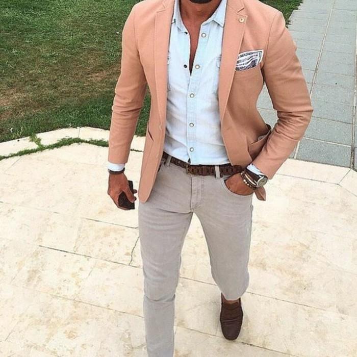 idée-comment-porter-chemise-jeans-homme-cool-idee