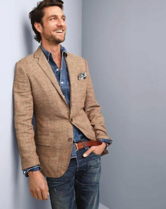 idée-comment-porter-chemise-jeans-homme-costume