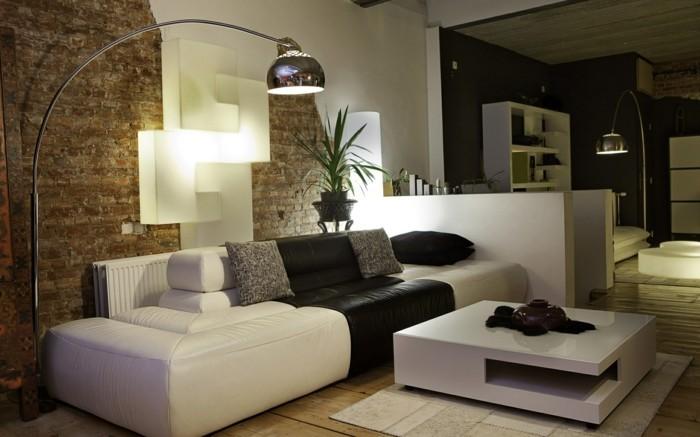idée-déco-petit-salon-sympa-design-simple-déco-en-noir-et-blanc