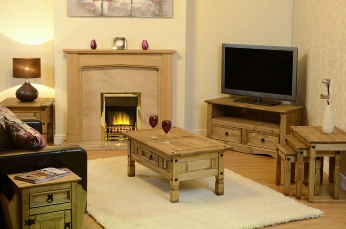 idée-déco-petit-salon-amenager-un-petit-salon-meubles-en-bois-déco-petit-salon-à-la-fois-jolie-et-originale-ambiance-chaleureuse