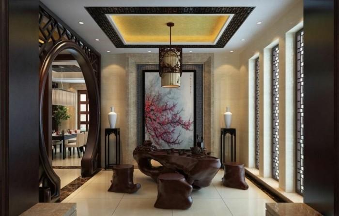idée-déco-petit-salon-déco-originale-dans-un-style-asiatique-aménager-un-petit-salon-belle-déco-murale