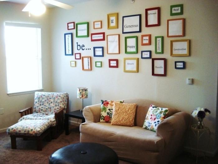 idée-déco-petit-salon-très-originale-déco-idée-créative-de-déco-murale-ambiance enjouée