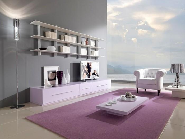 idée-géniale-comment-aménager-un-petit-salon-décor-en-rose-style-glamour-simple