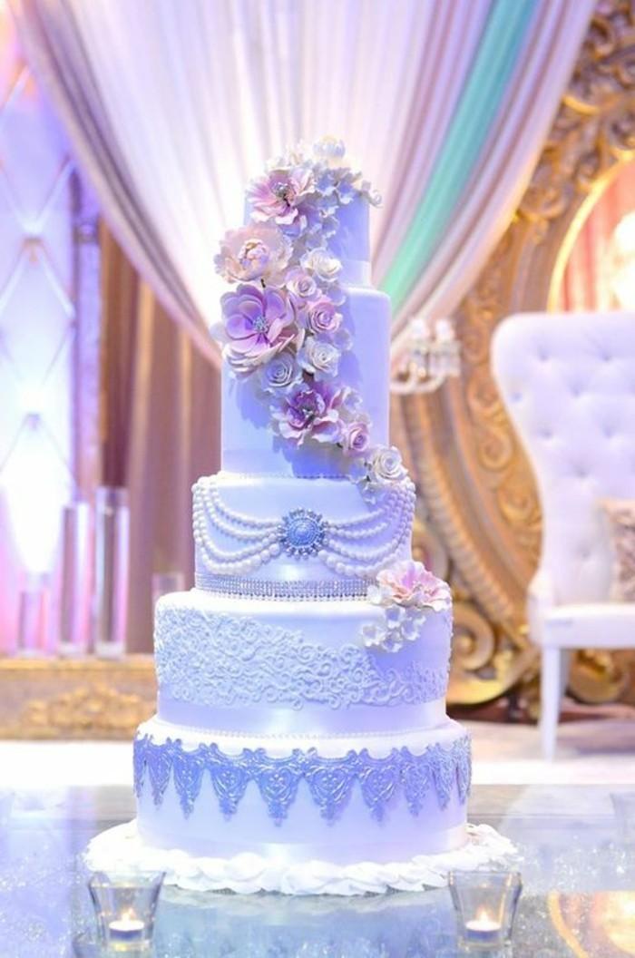 Recette de decoration de gateau de mariage