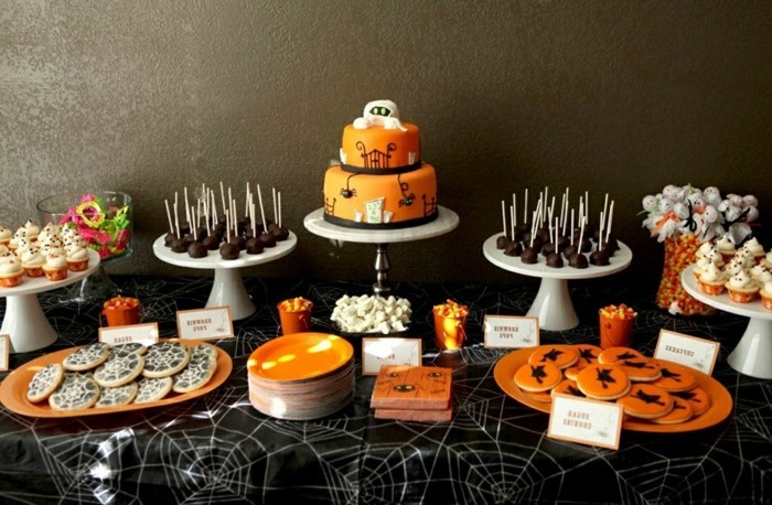D co table halloween le guide ultime en 86 photos for Idee deco gateau halloween