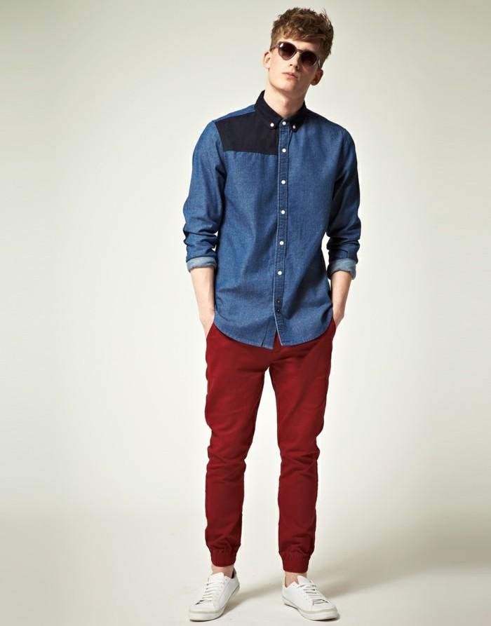 Bien-aimé Comment porter chemise en jeans homme? - Archzine.fr JR45