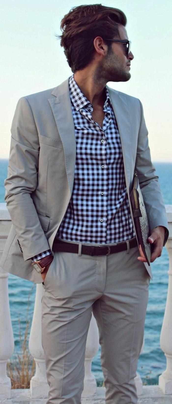 jolie-idée-comment-s-habiller-cravate-mariage-classe-au-bord-de-la-mer