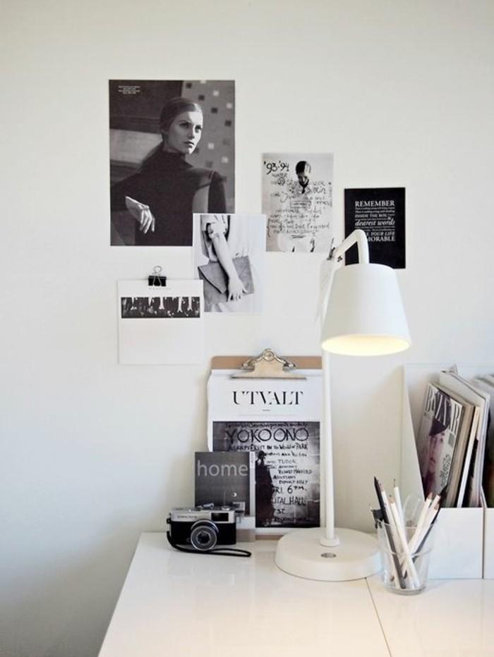 lampe-de-table-design-classique-en-blanc-métal-pour-organiser-bien-votre-bureau