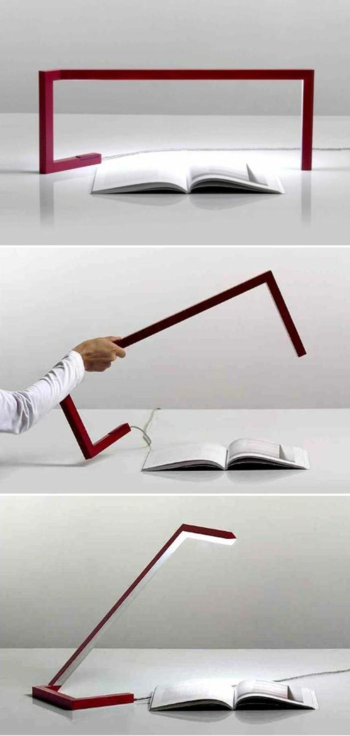 lampe-de-table-led-design-originale-couleur-rouge-foncé-lampe-de-bureau-design