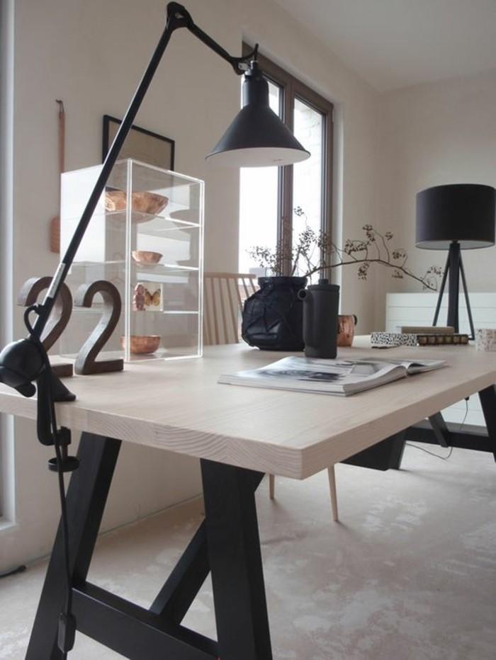 Comment choisir votre lampe de bureau design alin a leroy - Bureau metal noir ...