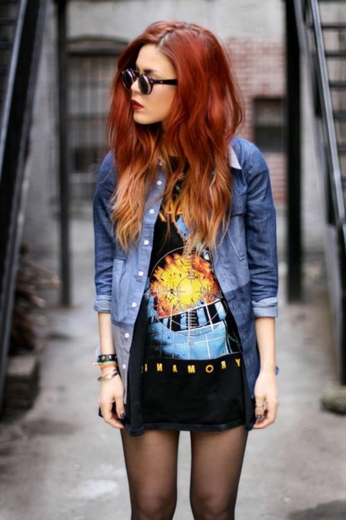 les-stars-couleur-pour-cheveux-rouge-ombré