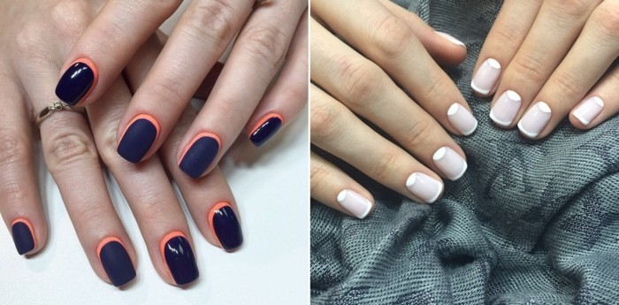 manucure-french-original-chic-deco-ongles-colorés-tendances-chic