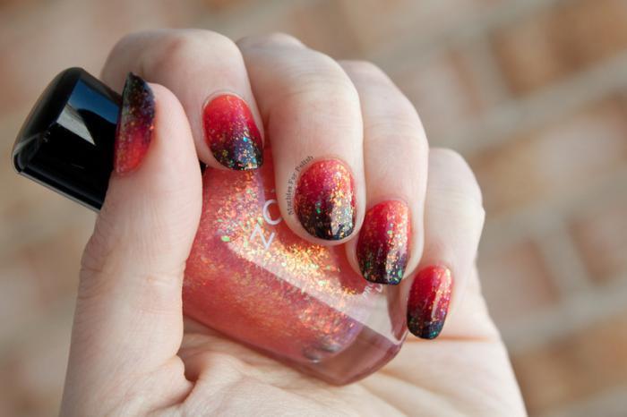 manucure-ombré-couleurs-flamboyantes