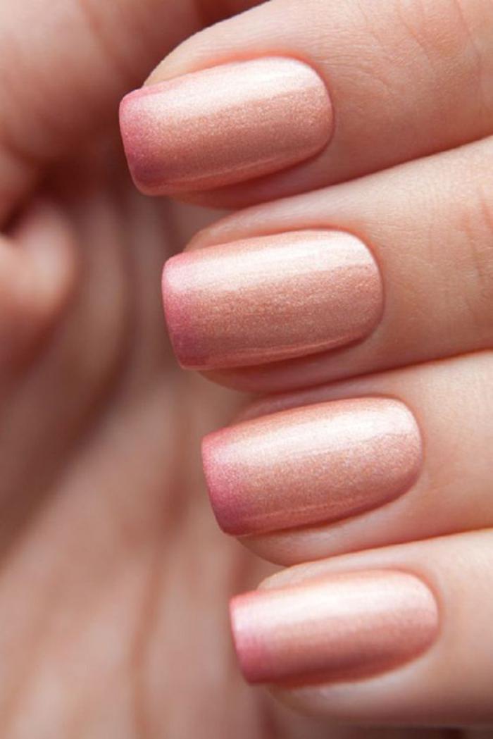 manucure-ombré-nails-ombré-en-rose