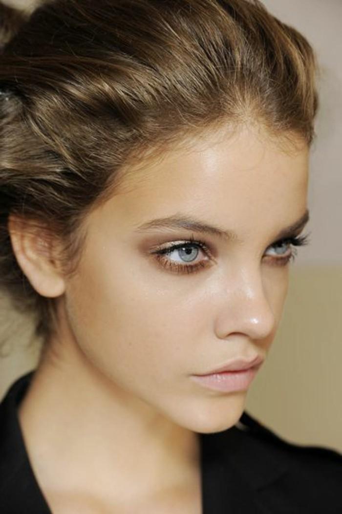 maquillage-leger-yeux-bleus-verts-maquillage-smoky-eyes-bleus-idees ...