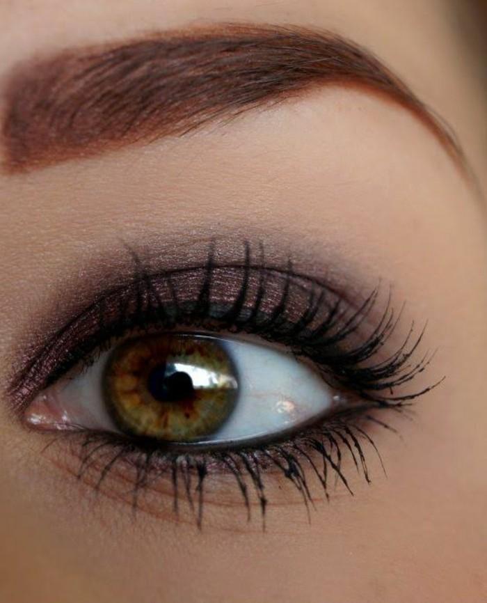 maquillage-parfait-yeux-de-biche-maquillage-yeux-de-chat-pour-yeux-noisettes