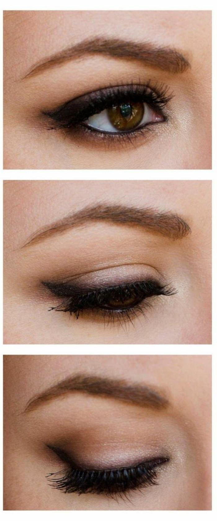 maquillage-yeux-de-biche-tuto-maquillage-année-60