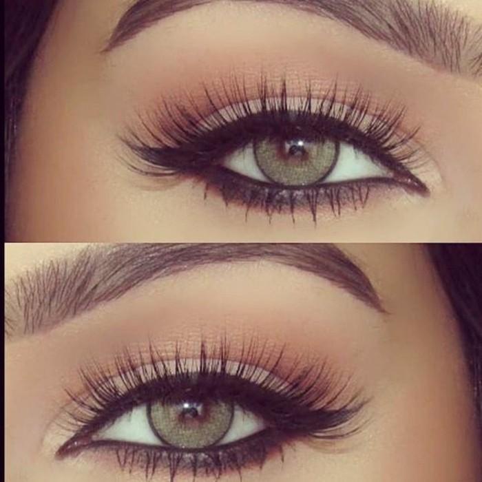 maquillage-yeux-de-chat-yeux-verts-diy-maquillage-parfait-yeux-vert-idees