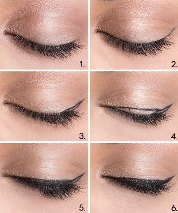 maquiller-les-yeux-en-amande-mascara-noir-maquillage-tuto-facile-a-faire