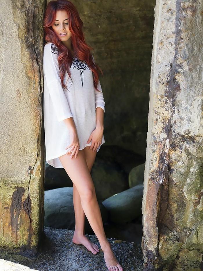 meilleure couleur cheveux rouge cuivr balcon - Meilleure Coloration Rouge