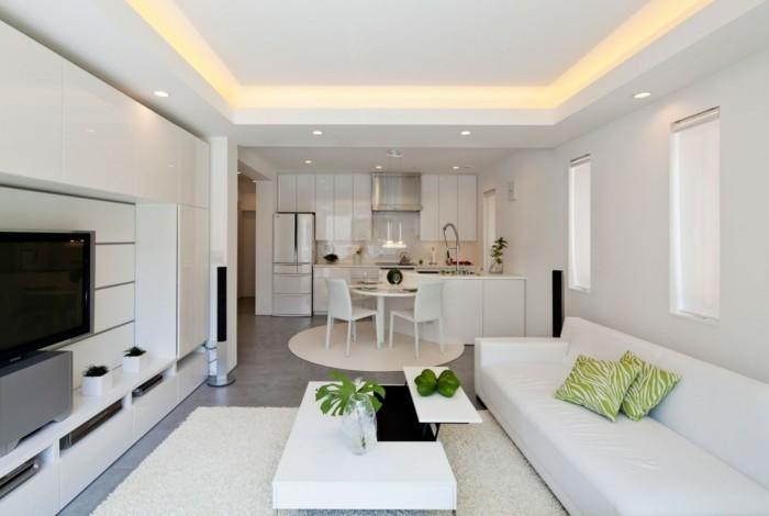 merveilleuse-idée-déco-petit-salon-zen-table-basse-avec-espace-de-rangement-sofa-blanc