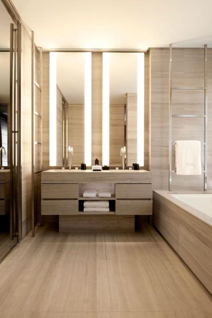 O trouver le meilleur miroir de salle de bain avec clairage for Bandeau lumineux plafond