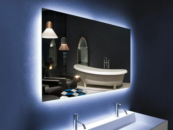 eclairage miroir salle de bain design Eclairage miroir salle de bain design