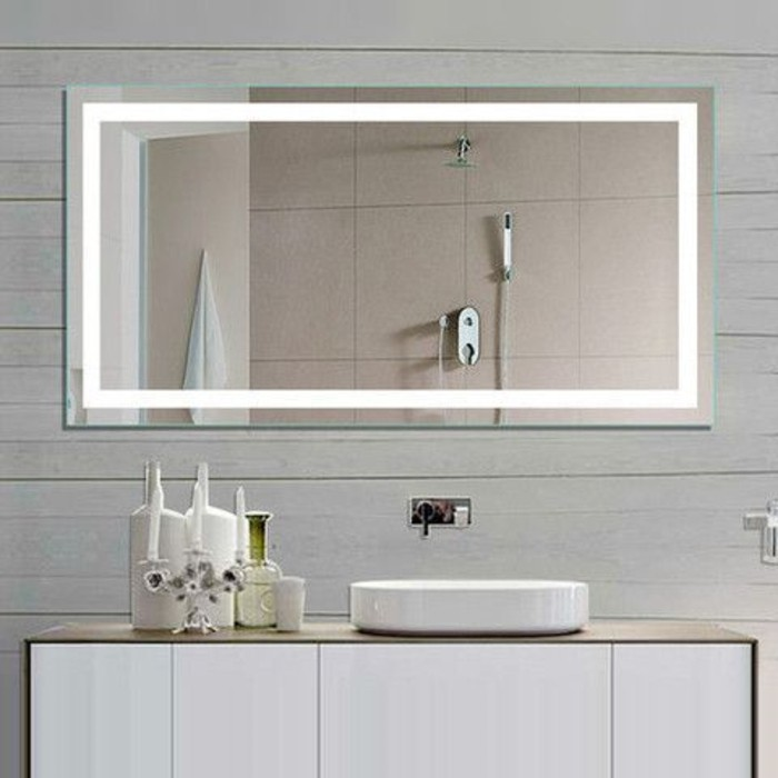 miroir salle bain lumineux accueil design et mobilier. Black Bedroom Furniture Sets. Home Design Ideas