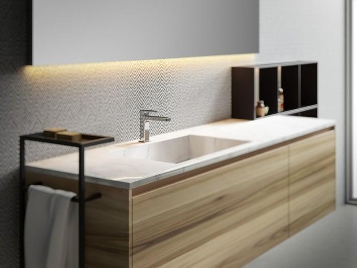 O trouver le meilleur miroir de salle de bain avec for Miroir salle de bain teck