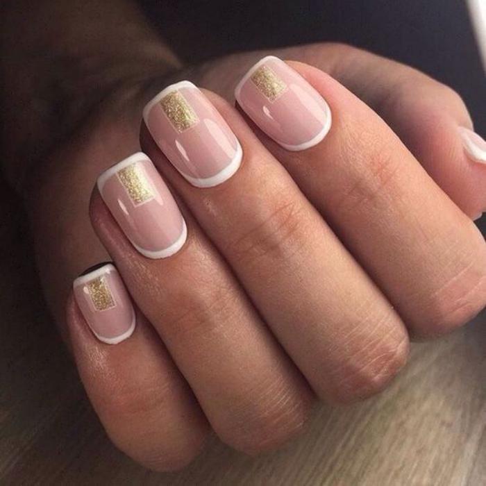 modèle-ongles-décoration-ongles-en-rose-nude-et-blanc