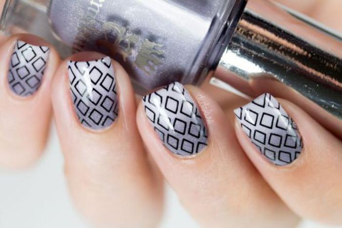 Nail art facile les id es cools pour votre manucure - Ongles facile a faire pour debutant ...