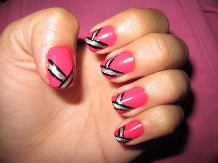 nail-art-facile-designs-déco-de-nails