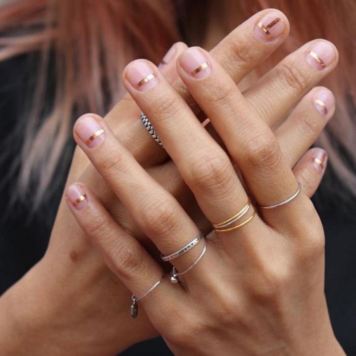 nail-art-facile-hippie-look-manucure-avec-ruban-adhésif